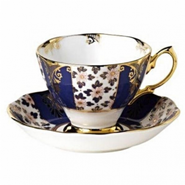 (OUT OF STOCK) CELEBRATION ROYAL ALBERT REGENCY BLUE DUO
