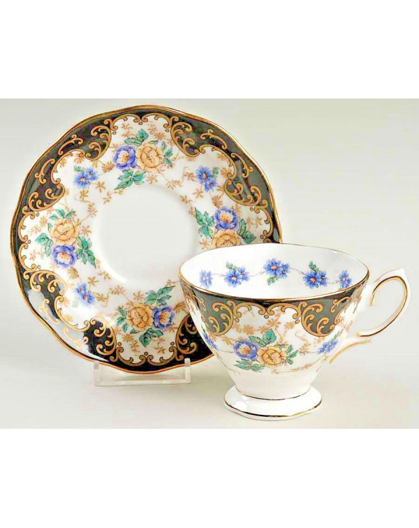ROYAL ALBERT DUCHESS TEA CUP & SAUCER