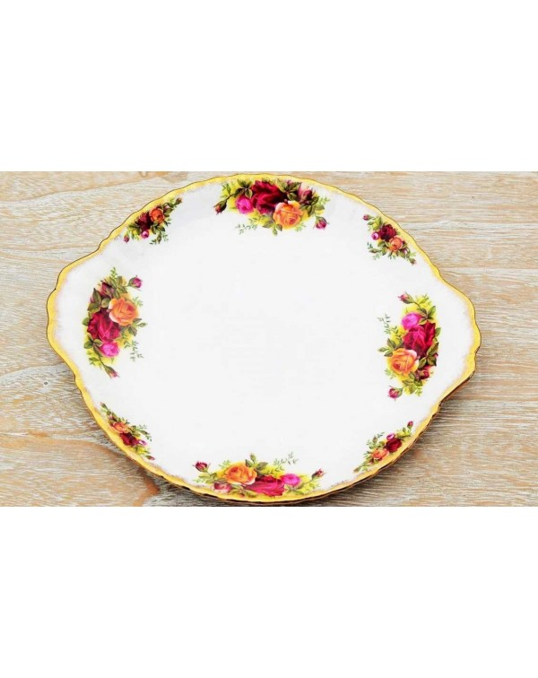 ROYAL ALBERT OLD COUNTRY ROSES  PLATE