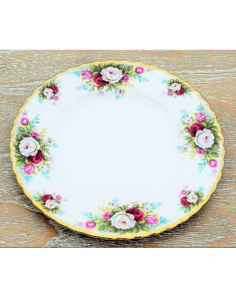 ROYAL ALBERT CELEBRATION SALAD PLATE