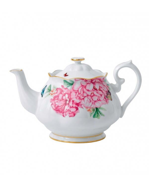 (OUT OF STOCK) ROYAL ALBERT MIRANDA KERR TEAPOT