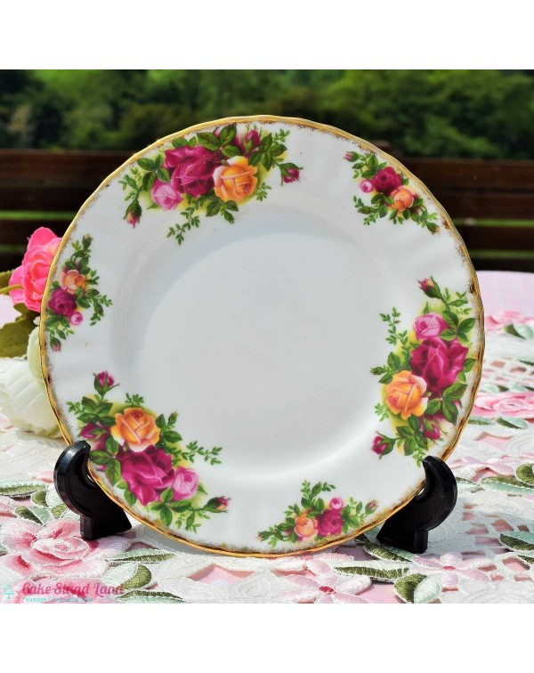 (OUT OF STOCK) OLD COUNTRY ROSES LARGE TEA PLATE