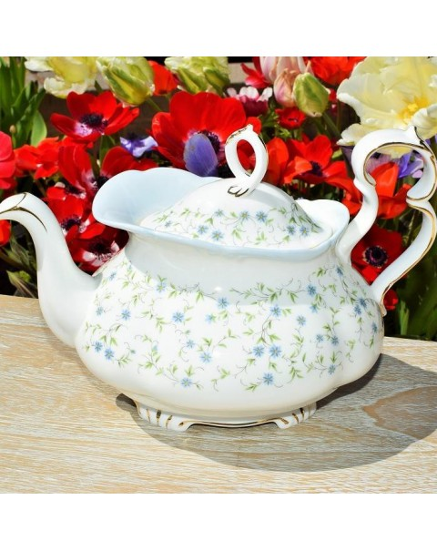 ROYAL ALBERT CAROLINE TEAPOT