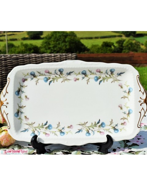 (OUT OF STOCK) ROYAL ALBERT BRIGADOON SANDWICH TRAY