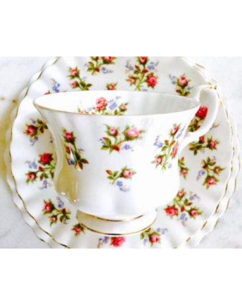 (OUT OF STOCK) ROYAL ALBERT WINSOME TEA TRIO