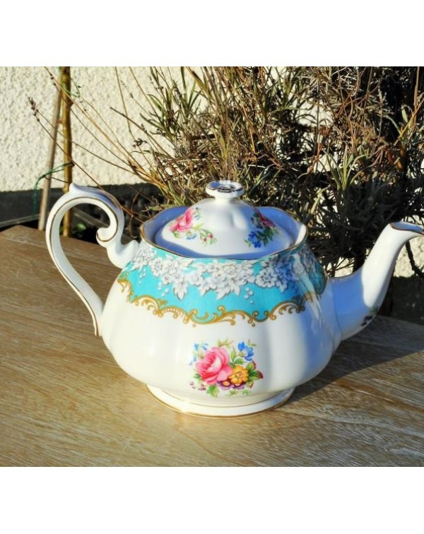 (SOLD) ROYAL ALBERT ENCHANTMENT TEAPOT