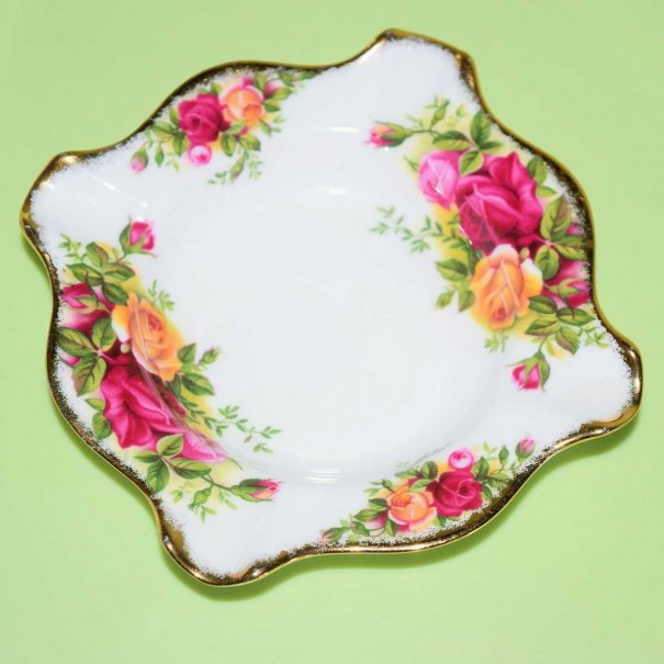 (OUT OF STOCK) OLD COUNTRY ROSES ASHTRAY