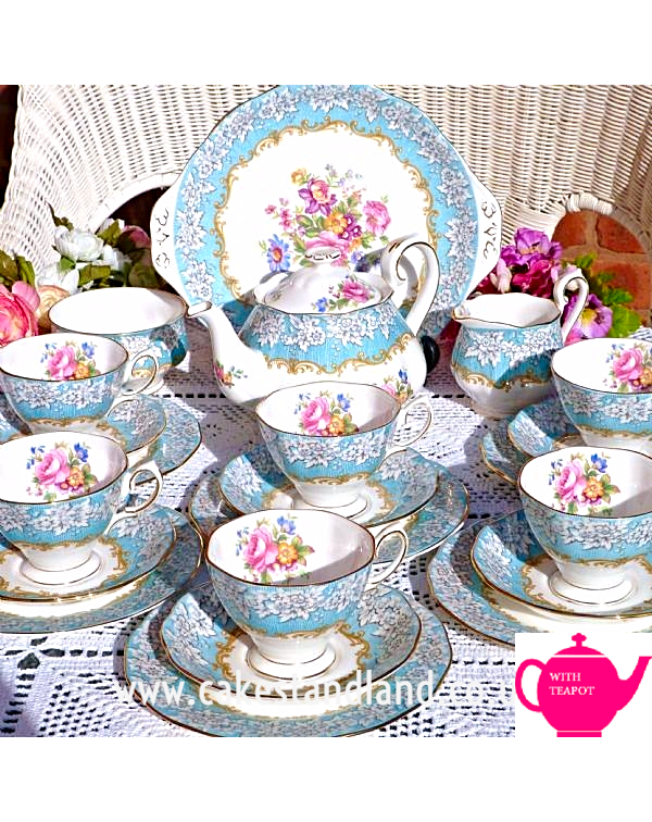 (OUT OF STOCK) ROYAL ALBERT ENCHANTMENT TEA SET WI...