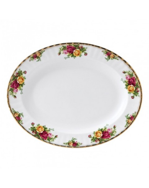 (OUT OF STOCK) ROYAL ALBERT OLD COUNTRY ROSES PLATTER