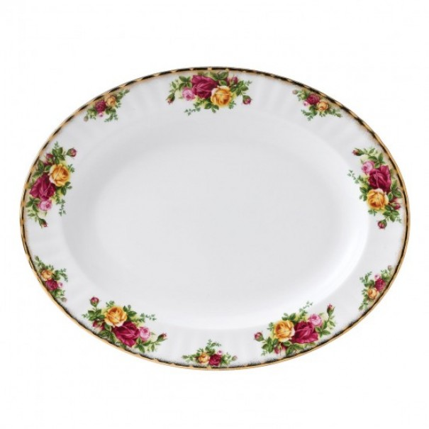 (SOLD) ROYAL ALBERT OLD COUNTRY ROSES PLATTER