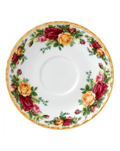 ROYAL ALBERT OLD COUNTRY ROSES SAUCER