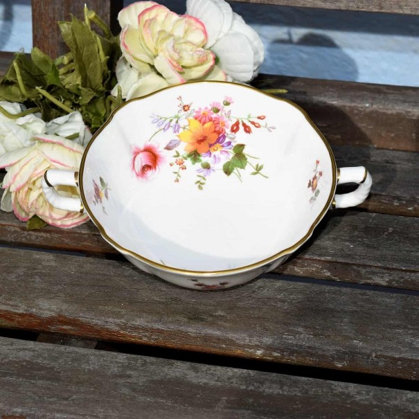 ROYAL CROWN DERBY POSIES SOUP COUPE