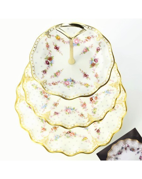 (OUT OF STOCK) ROYAL CROWN DERBY ANTOINETTE CAKE S...