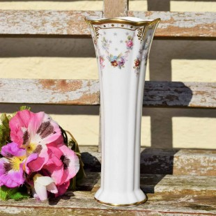 ROYAL CROWN DERBY ANTOINETTE POSY VASE