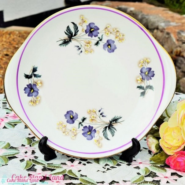 ROYAL IMPERIAL CAKE PLATE