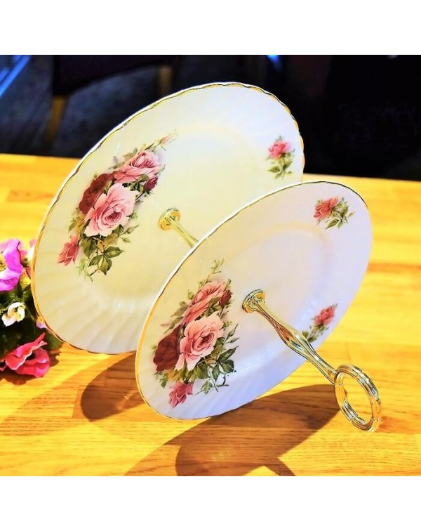SPECIAL OFFER ROYAL KENDAL ROSES CAKE STAND