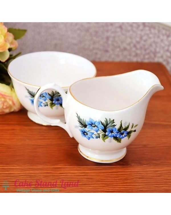 ROYAL KENT MILK JUG & SUGAR BOWL