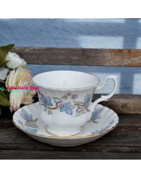 ROYAL KENT TRENTSIDE TEA CUP & SAUCER