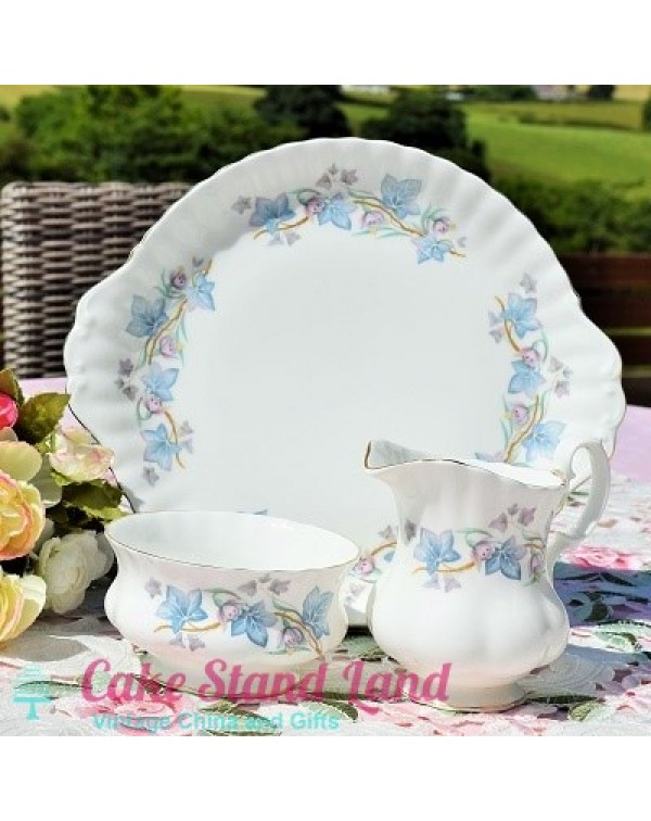 ROYAL KENT TRENTSIDE CAKE PLATE SET