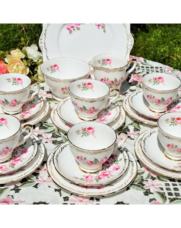 ( SOLD) ROYAL STAFFORD BRIDESMAID TEA SET