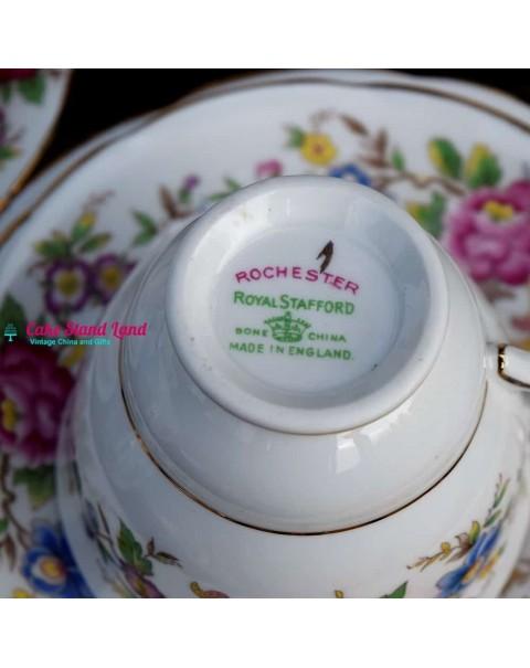 ROYAL STAFFORD ROCHESTER TEA SET