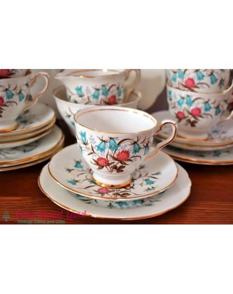 ROYAL STAFFORD CLOVERBEL TEA SET