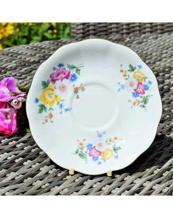 ROYAL STANDARD FLORAL TEA SAUCER