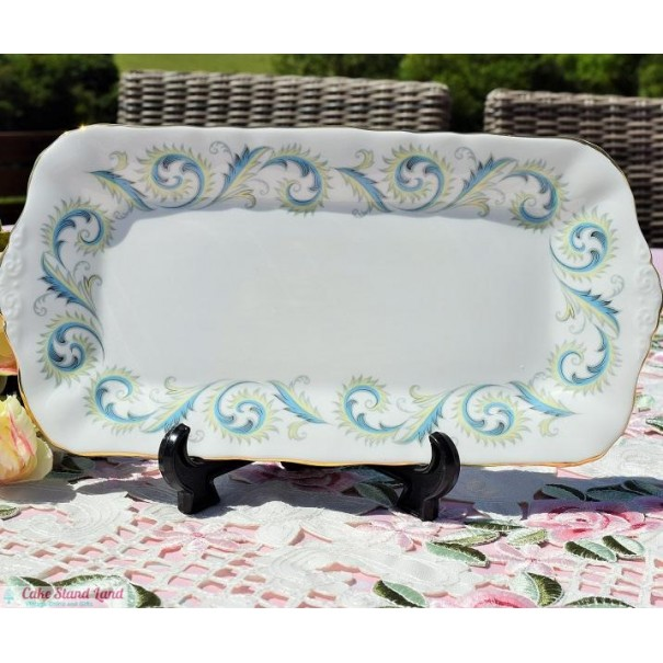 (SOLD) ROYAL STANDARD GARLAND BISCUIT TRAY