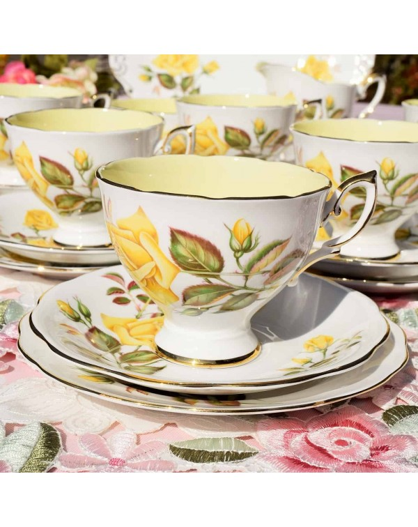 ROYAL STANDARD SUNSET VINTAGE TEA TRIO
