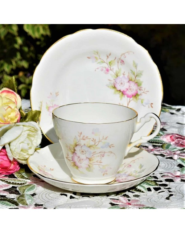 ROYAL STUART ROSES TEA TRIO