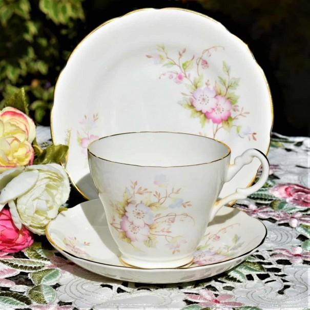 (SOLD) ROYAL STUART ROSES TEA TRIO