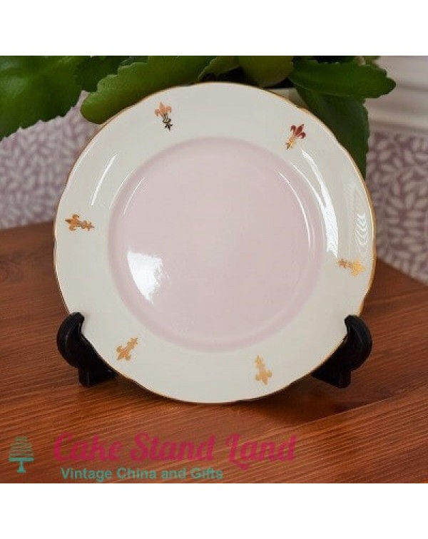 (OUT OF STOCK) ROYAL TRON PINK TEA PLATE