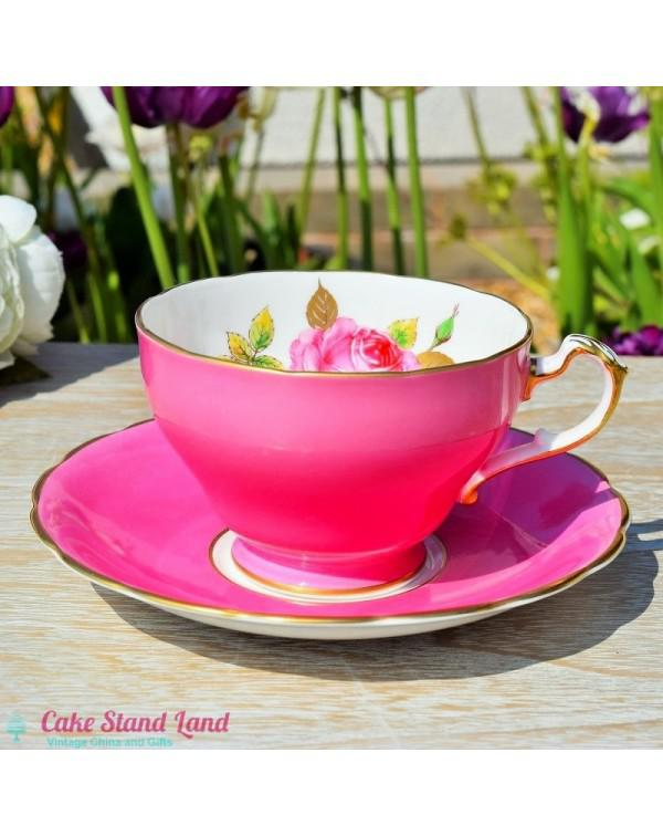 (OUT OF STOCK) ROYAL TRON SHOCKING PINK TEA CUP &a...