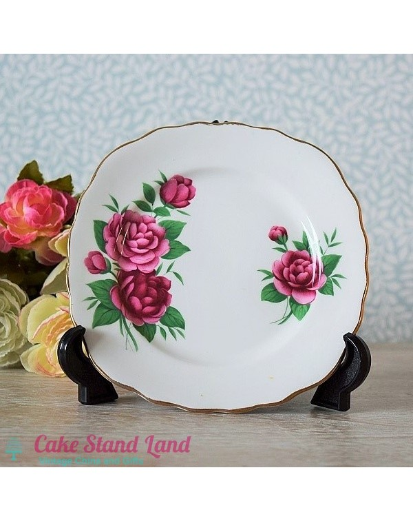 (OUT OF STOCK) ROYAL VALE CAMELLIA PLATE