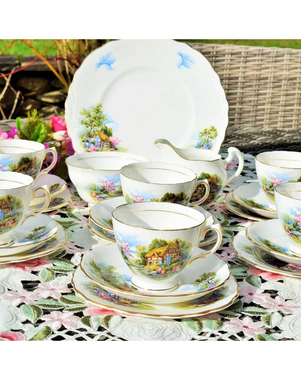 ROYAL VALE HOMESTEAD TEA SET