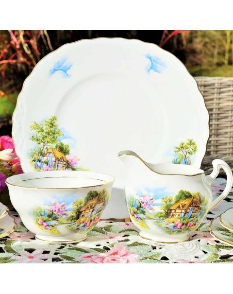 (SOLD) ROYAL VALE HOMESTEAD TEA SET
