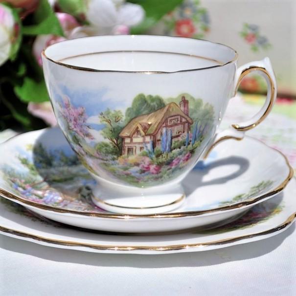 ROYAL VALE HOMESTEAD TEA SAUCER