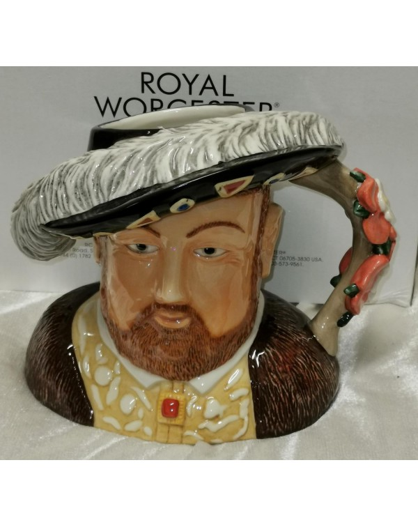 (SOLD) ROYAL WORCESTER NEW BOXED HENRY 8TH