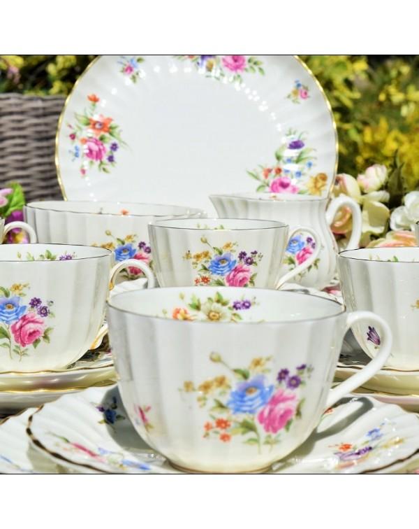 (SOLD) ROYAL WORCESTER ROANOKE TEA SET