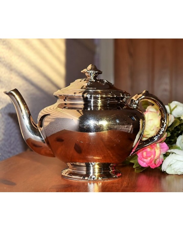 (OUT OF STOCK) ROYAL WORCESTER SILVER TEAPOT ONE C...