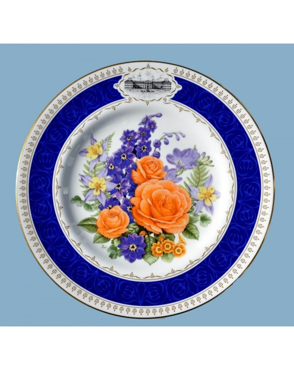 (SOLD) RHS ROYAL WORCESTER CHELSEA ANNIVERSARY PLA...