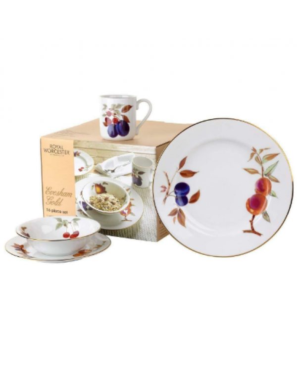 (OUT OF STOCK) ROYAL WORCESTER EVESHAM GOLD 16 PIE...