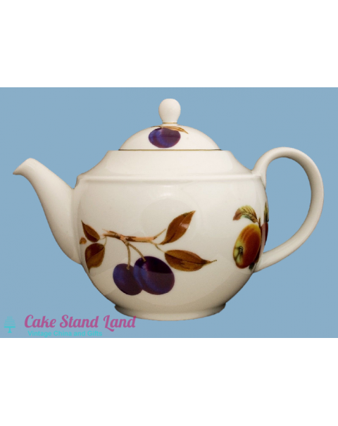(OUT OF STOCK) ROYAL WORCESTER EVESHAM GOLD TEAPOT