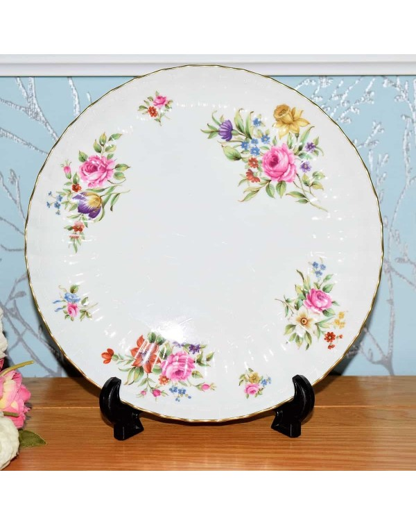 ROYAL WORCESTER ROANOKE CAKE PLATE