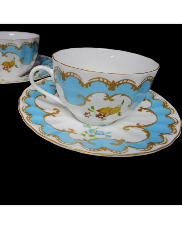 ROYAL WORCESTER PRIMULA BOXED SET OF 2