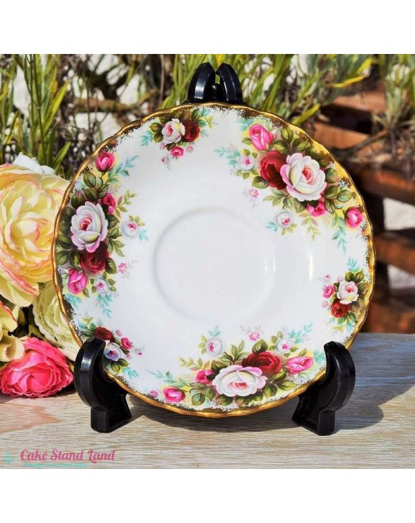 (OUT OF STOCK) ROYAL ALBERT CELEBRATION SAUCER