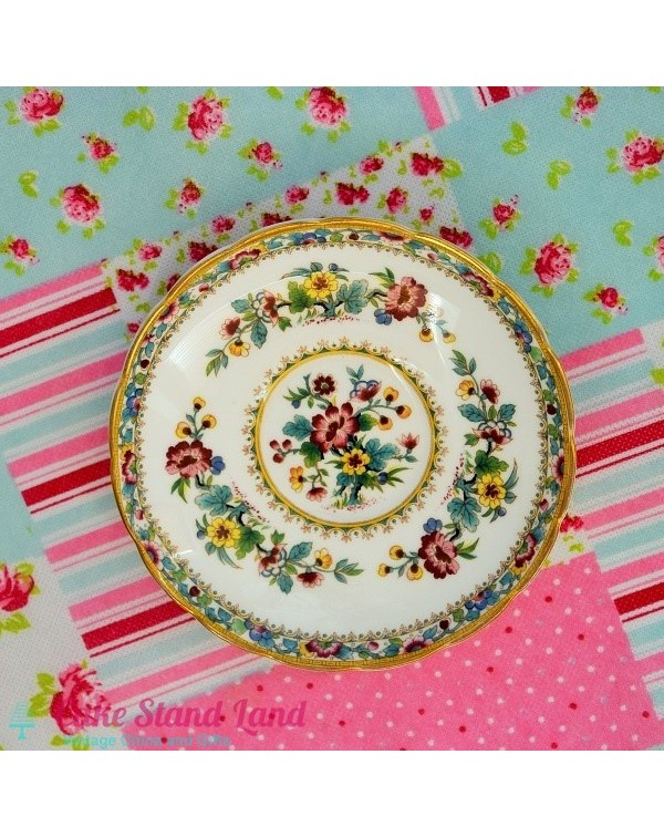 (OUT OF STOCK) COALPORT MING ROSE SAUCER