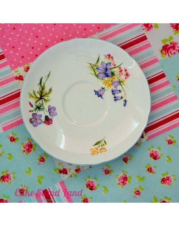 SHELLEY WILD FLOWERS SAUCER
