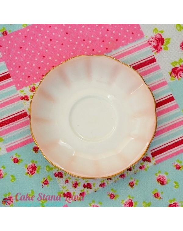 ROYAL ALBERT RAINBOW PINK SAUCER