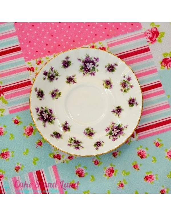 ROYAL ALBERT SWEET VIOLETS SAUCER